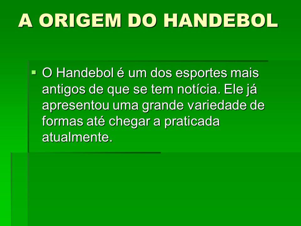 A ORIGEM DO HANDEBOL