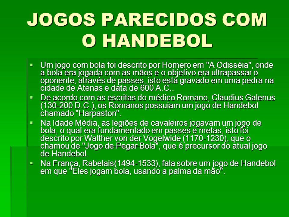 JOGOS PARECIDOS COM O HANDEBOL