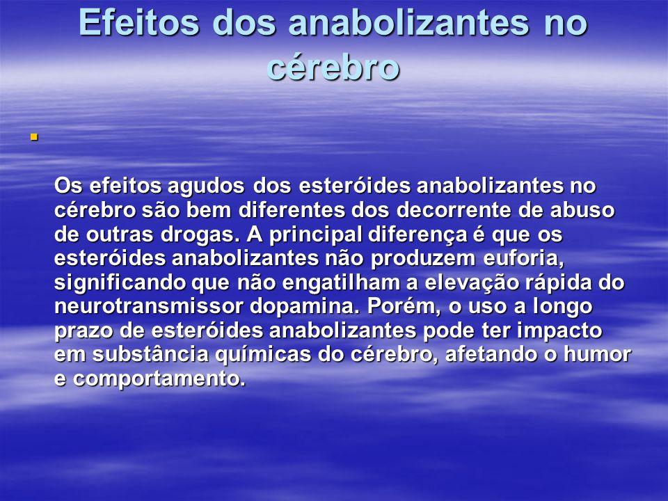 Efeitos dos anabolizantes no cérebro