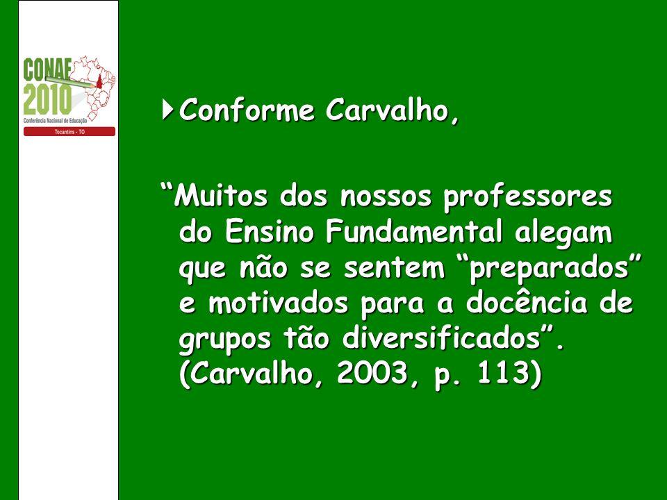 Conforme Carvalho,
