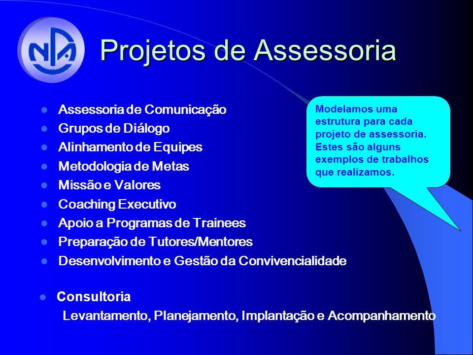 Projetos de Assessoria