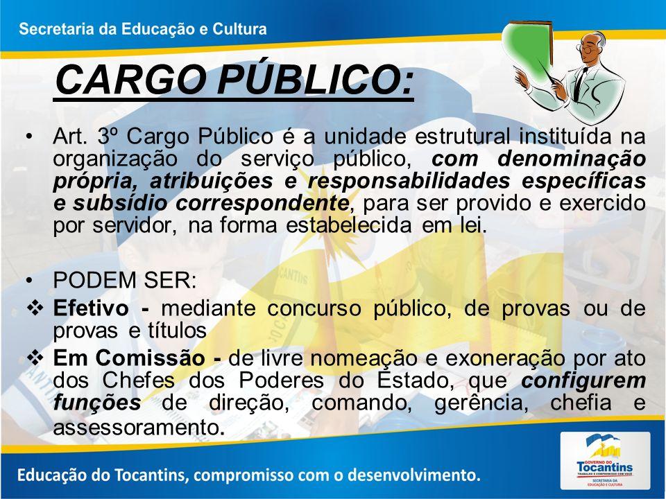 CARGO PÚBLICO:
