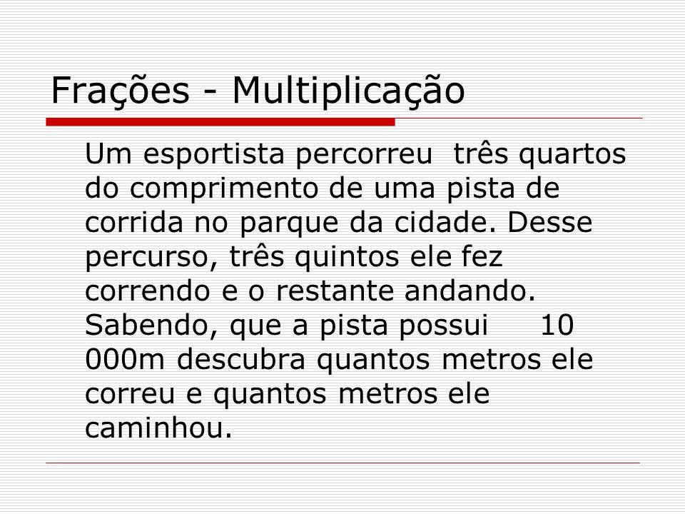 Frações - Multiplicação