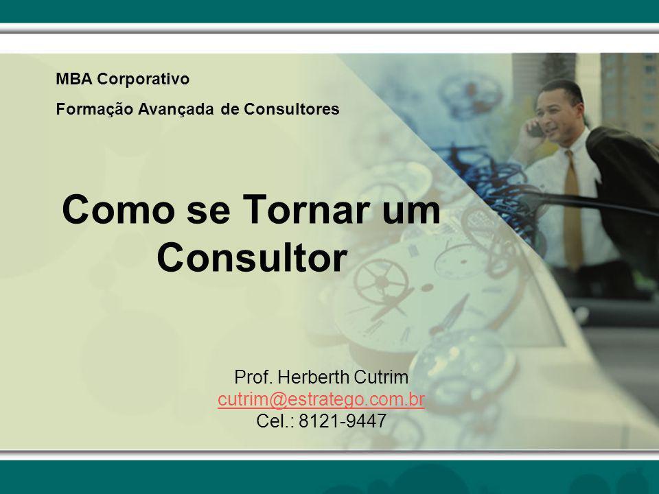 Como se Tornar um Consultor