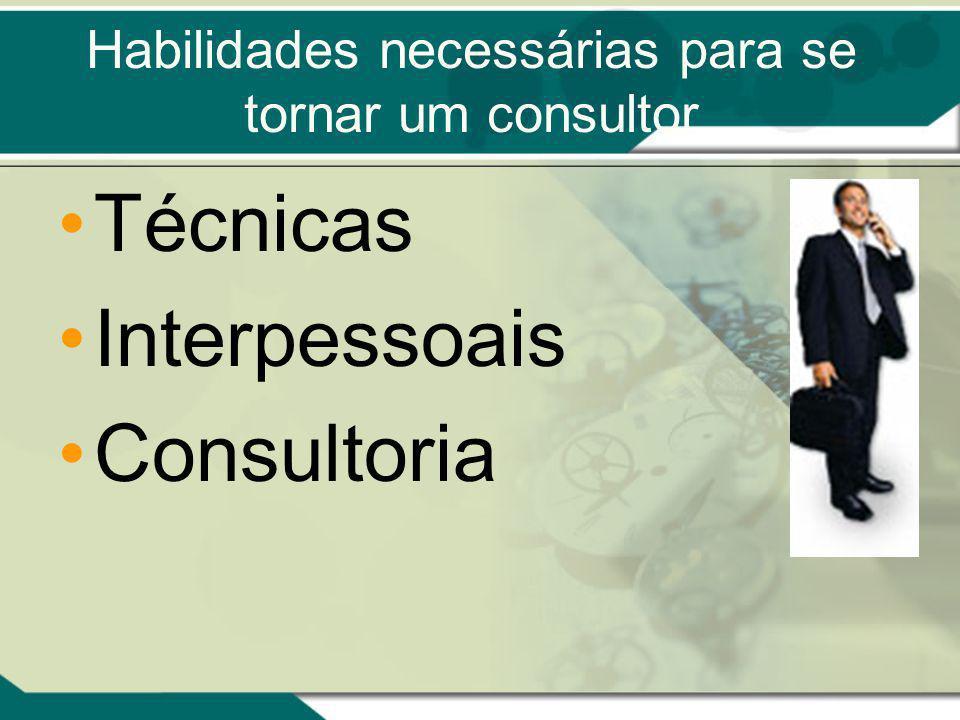 Habilidades necessárias para se tornar um consultor