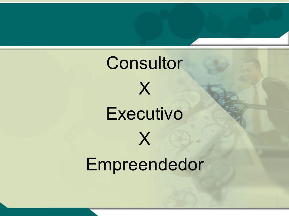 Consultor X Executivo Empreendedor