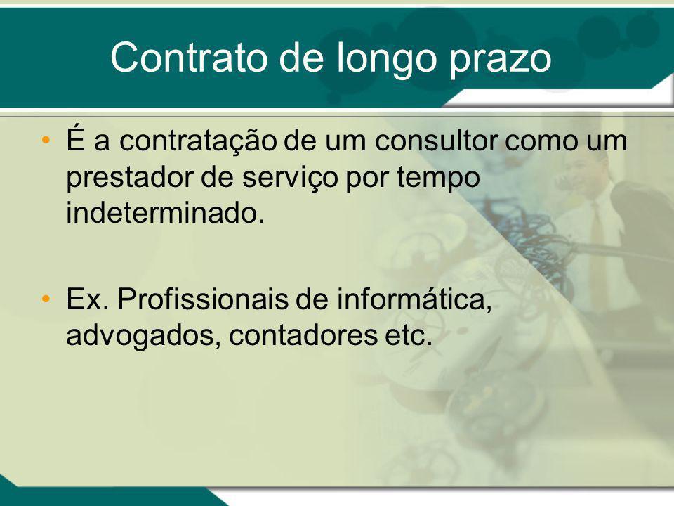 Contrato de longo prazo