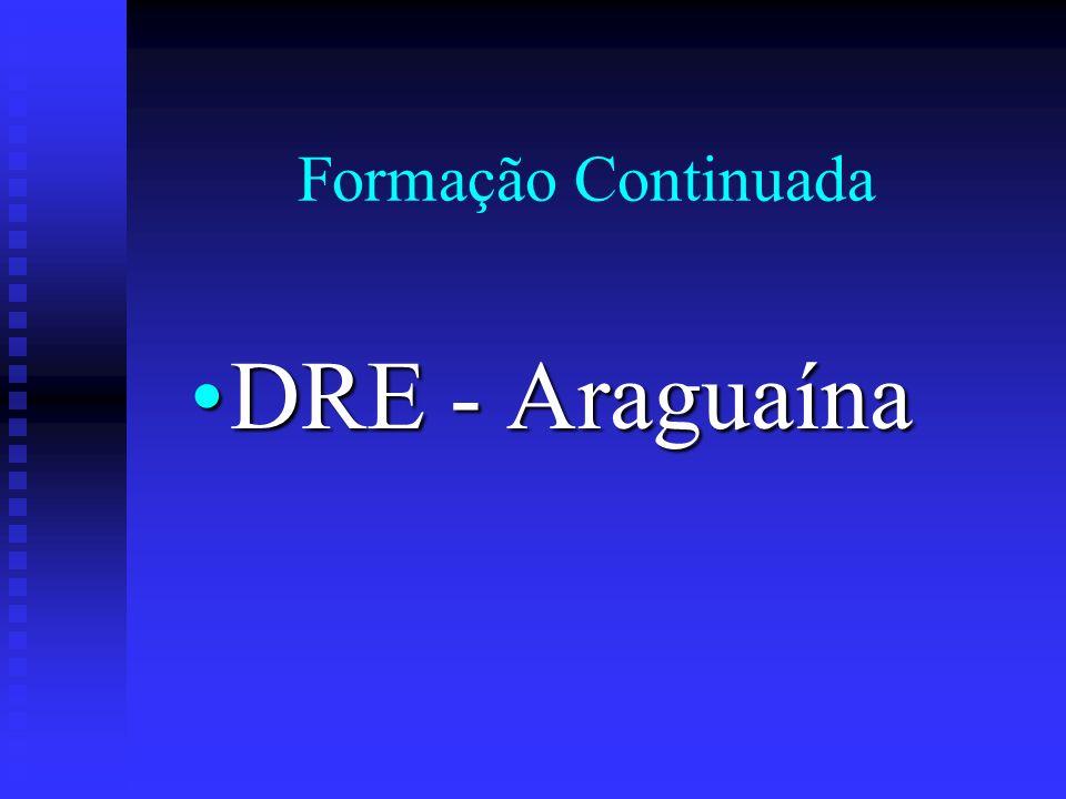 Formação Continuada DRE - Araguaína