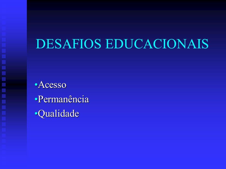 DESAFIOS EDUCACIONAIS