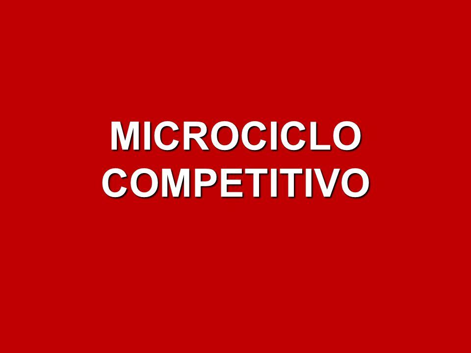 MICROCICLO COMPETITIVO