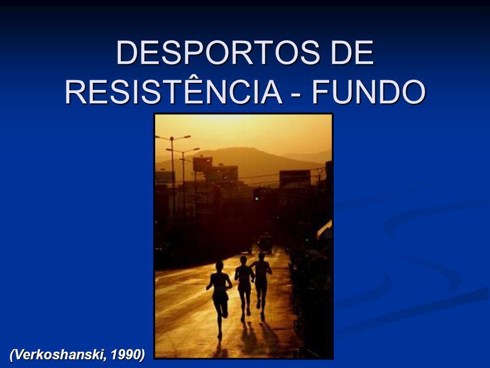 DESPORTOS DE RESISTÊNCIA - FUNDO