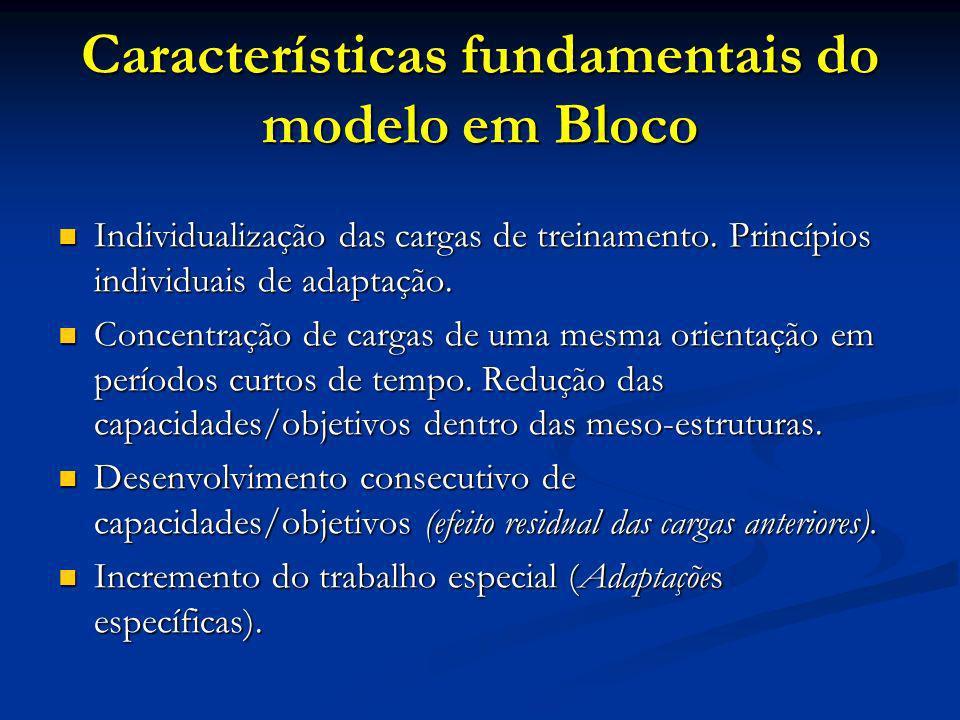 Características fundamentais do modelo em Bloco