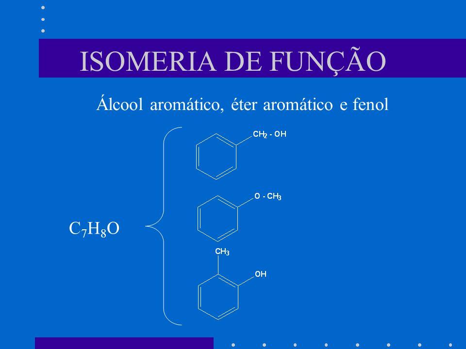 Álcool aromático, éter aromático e fenol