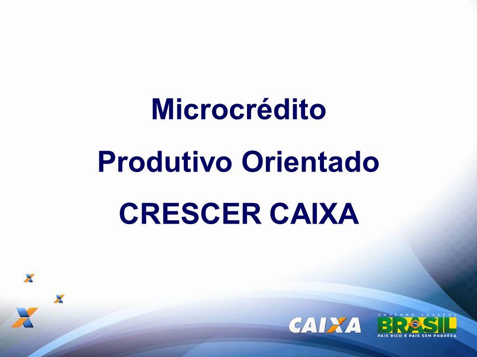 Microcrédito Produtivo Orientado CRESCER CAIXA
