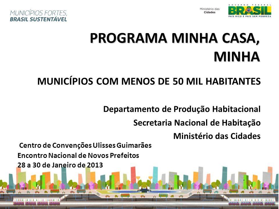 PROGRAMA MINHA CASA, MINHA