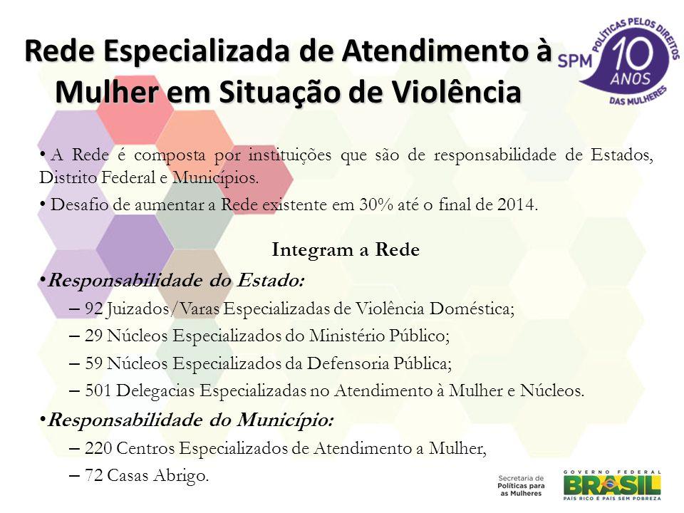 Rede Especializada de Atendimento à Mulher em Situação de Violência