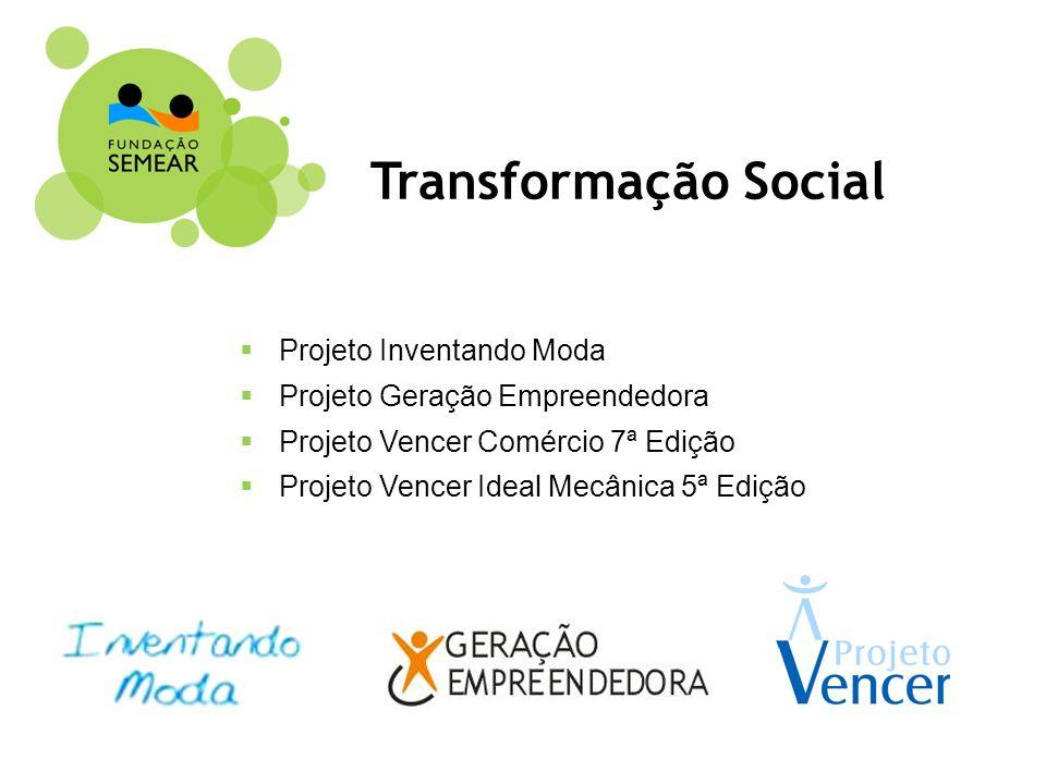 Transformação Social Projeto Inventando Moda