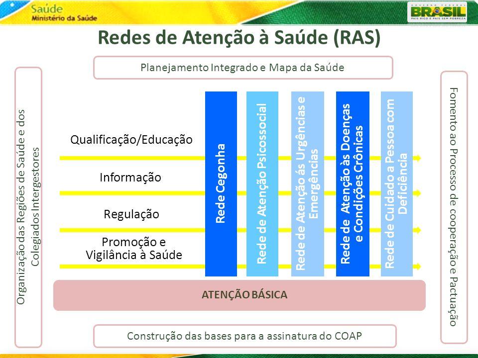 Redes de Atenção à Saúde (RAS)