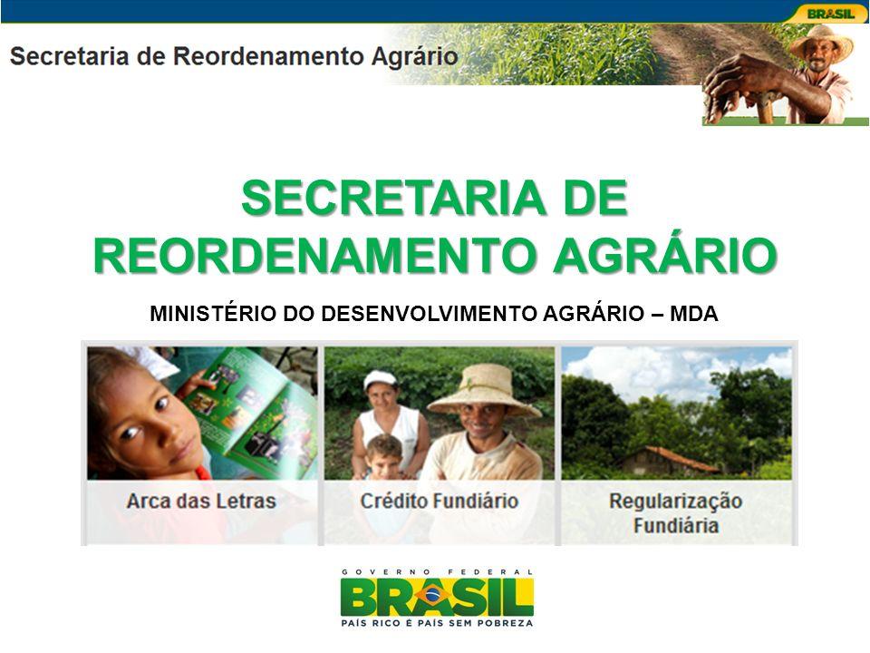SECRETARIA DE REORDENAMENTO AGRÁRIO
