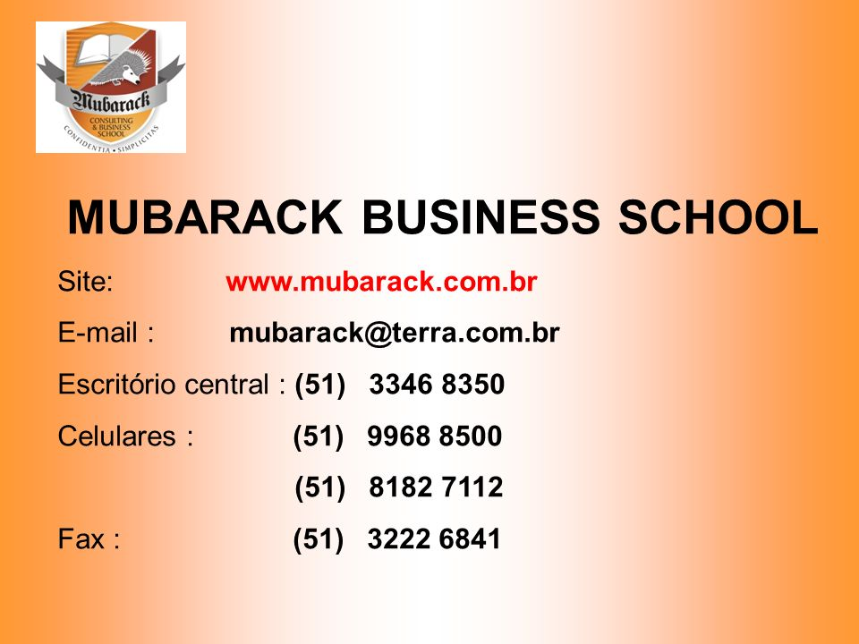 MUBARACK BUSINESS SCHOOL