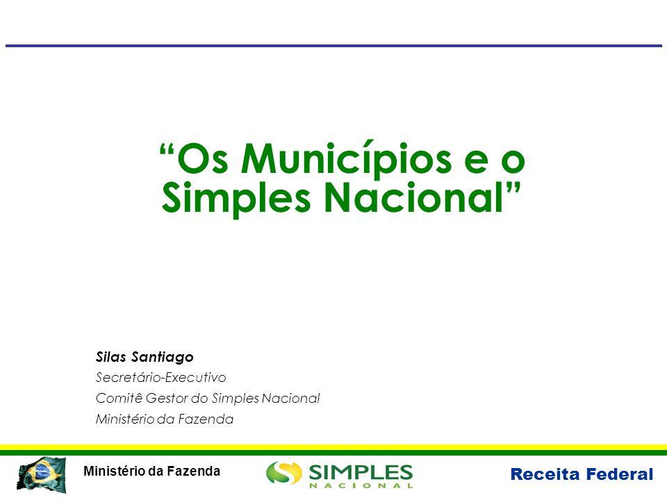 Os Municípios e o Simples Nacional