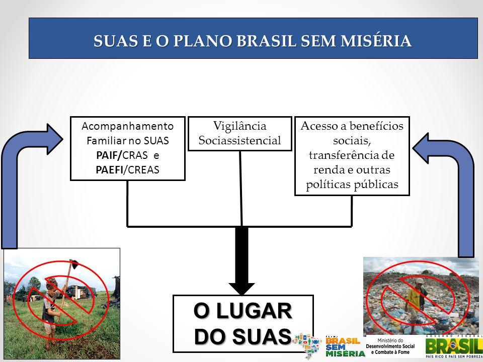 SUAS E O PLANO BRASIL SEM MISÉRIA