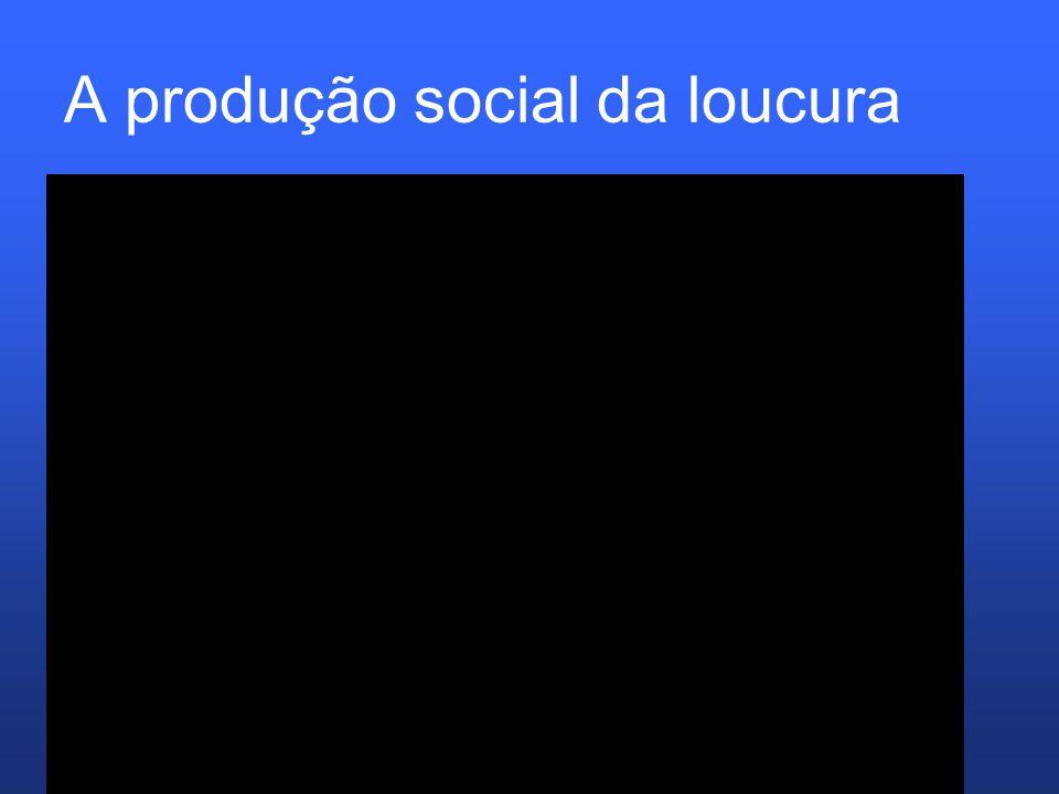 A produção social da loucura