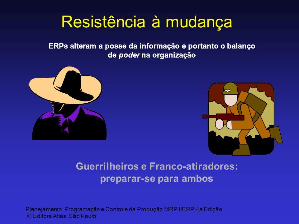 Guerrilheiros e Franco-atiradores: preparar-se para ambos