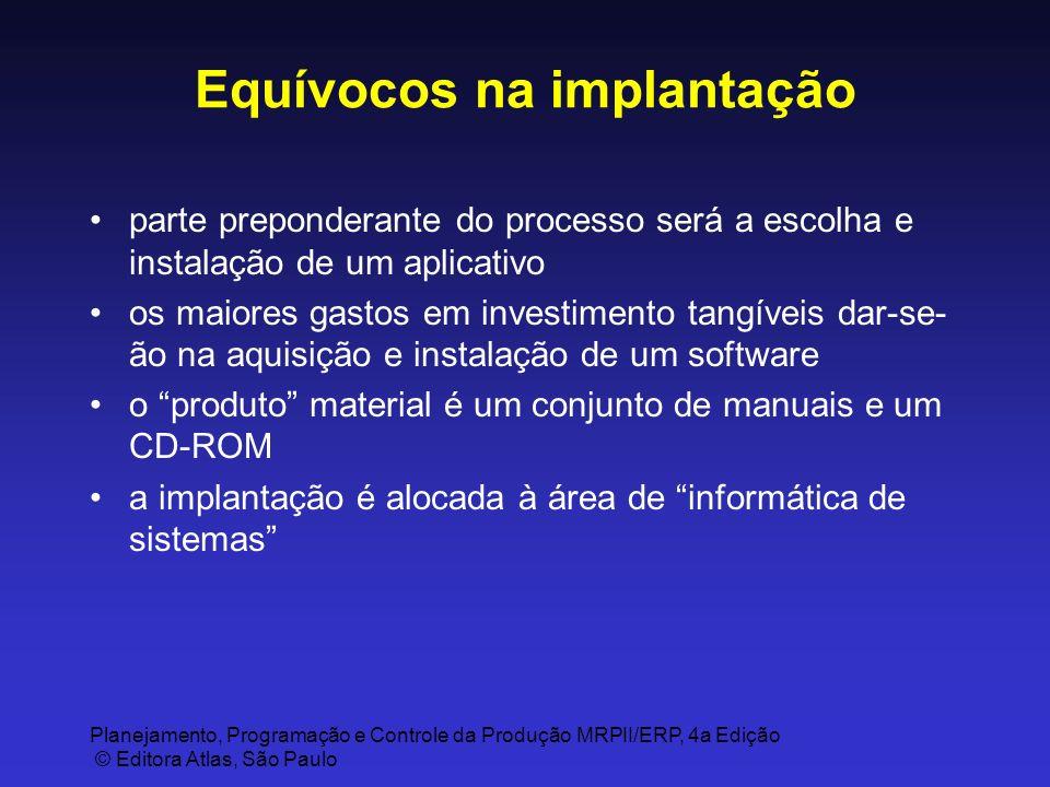 Equívocos na implantação