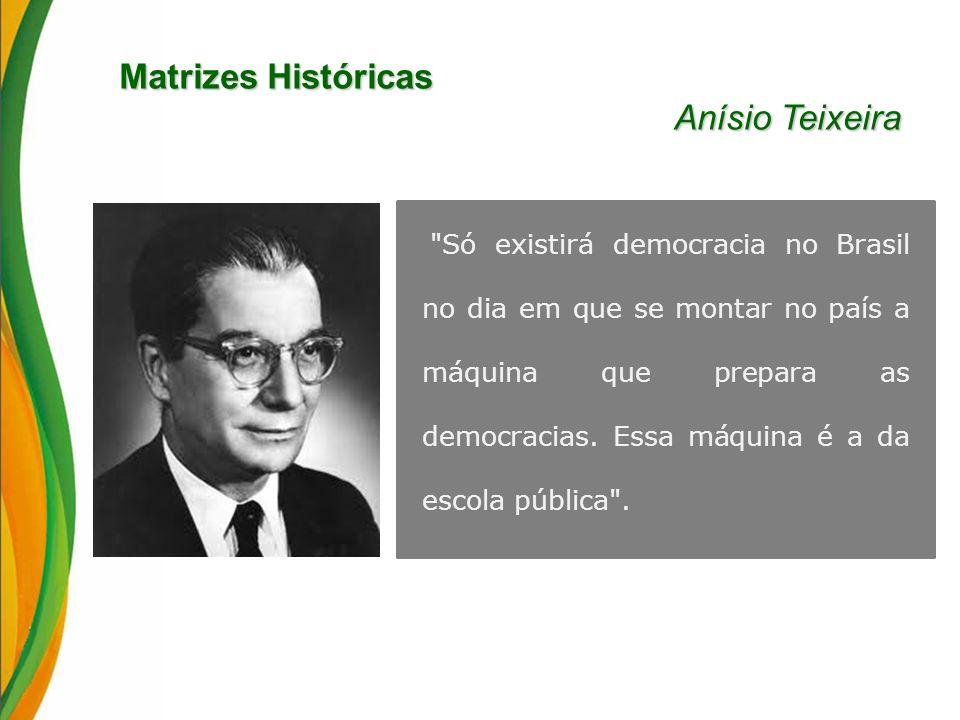 Matrizes Históricas Anísio Teixeira