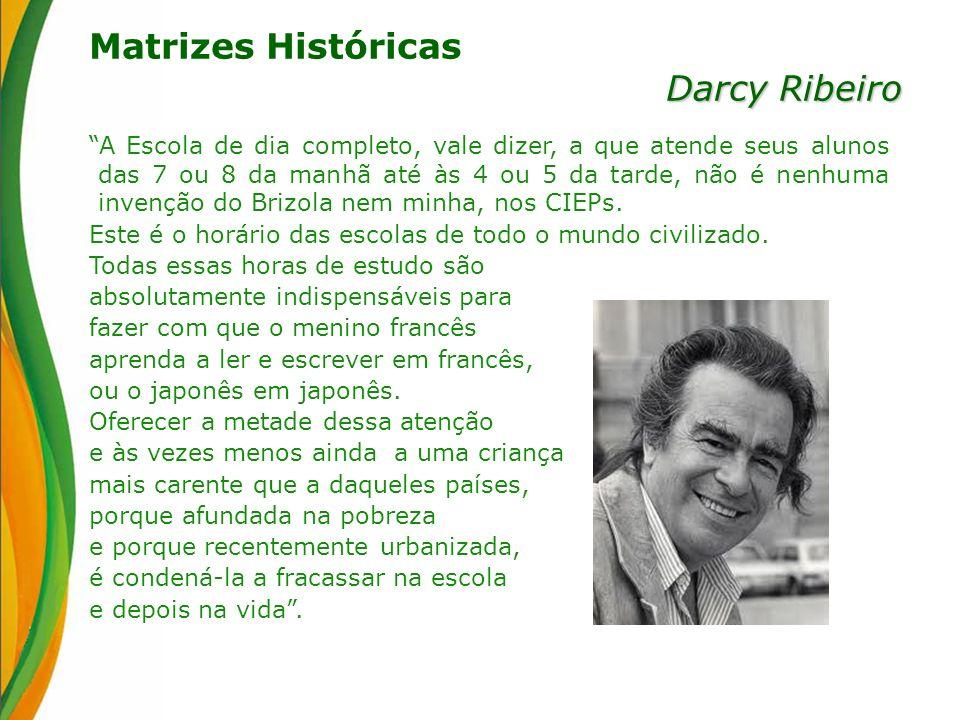 Matrizes Históricas Darcy Ribeiro