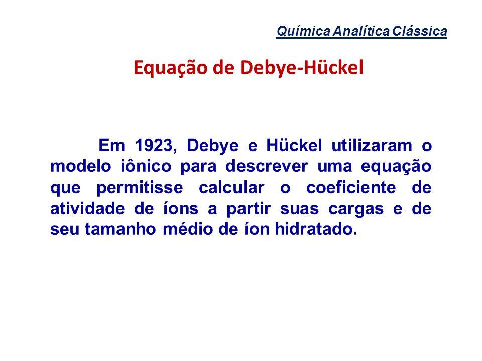 Equação de Debye-Hückel