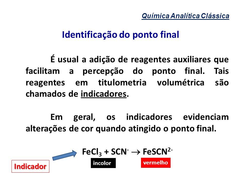Identificação do ponto final