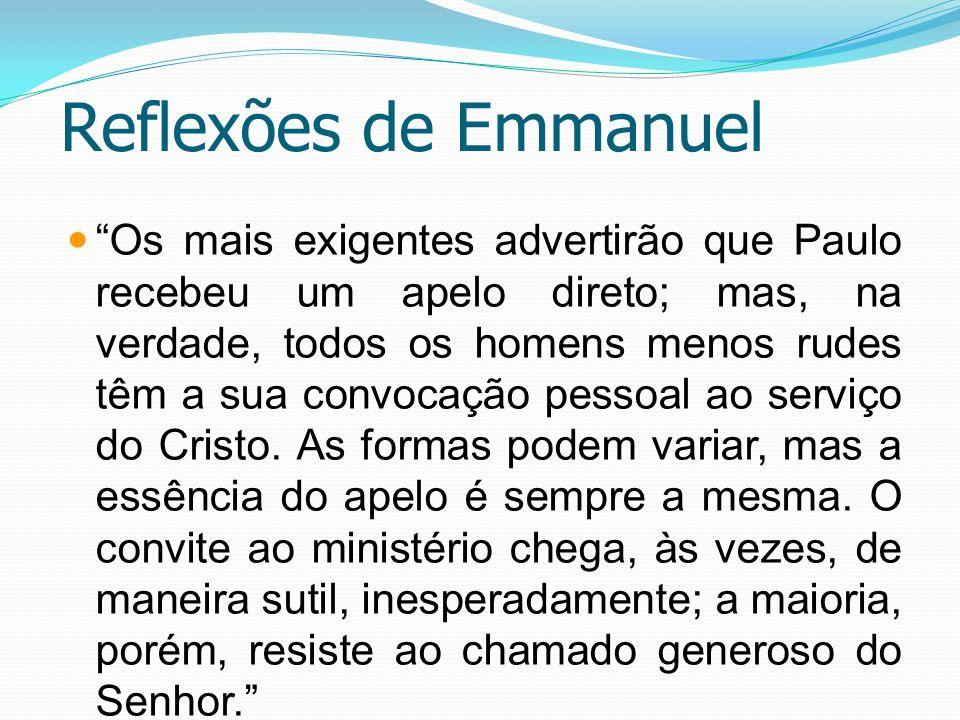 Reflexões de Emmanuel