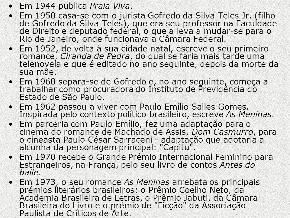 Em 1944 publica Praia Viva.