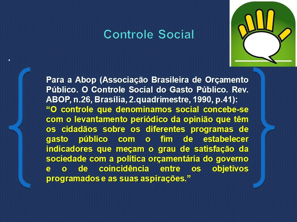 Controle Social .