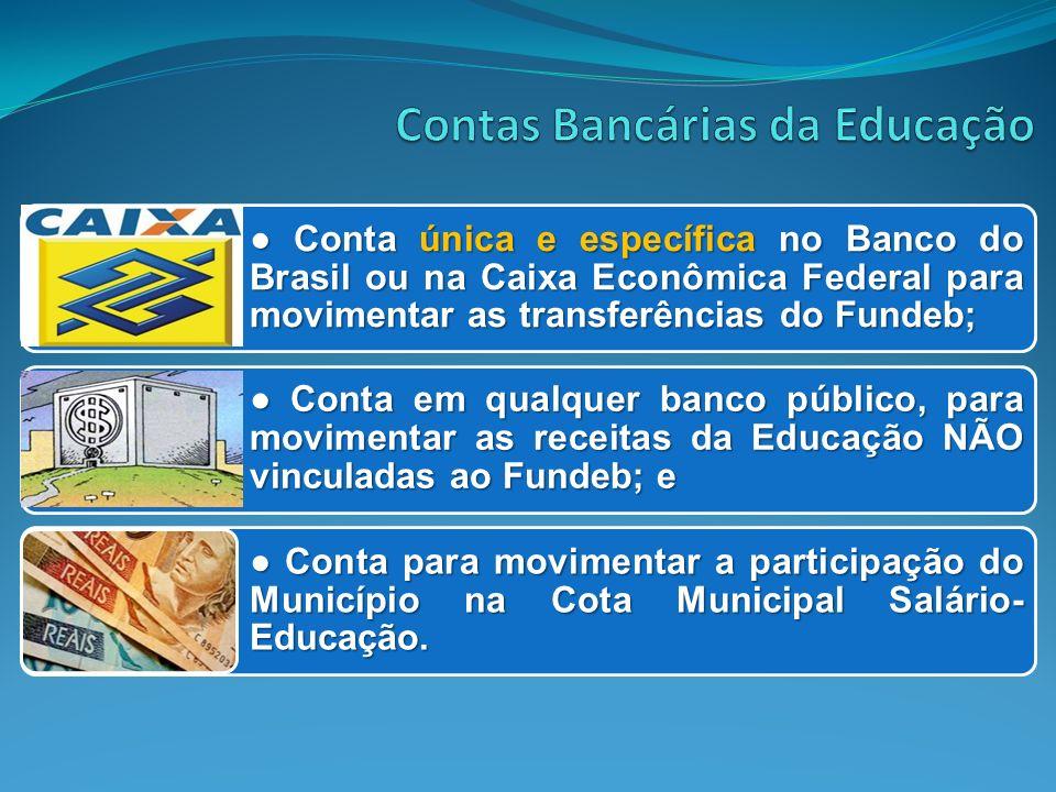 Contas Bancárias da Educação