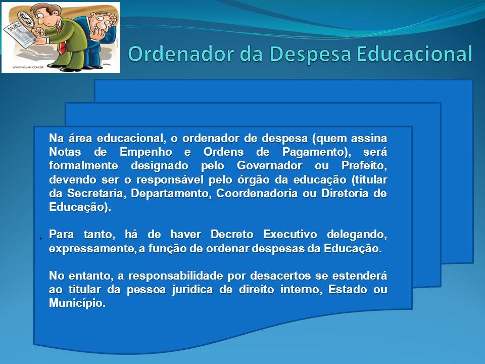 Ordenador da Despesa Educacional
