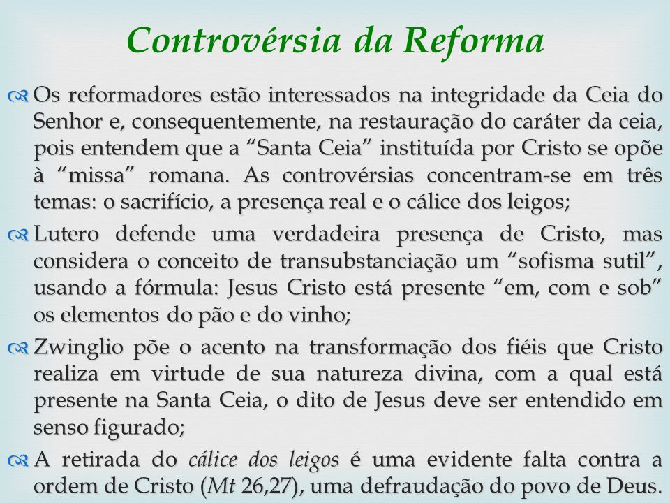 Controvérsia da Reforma