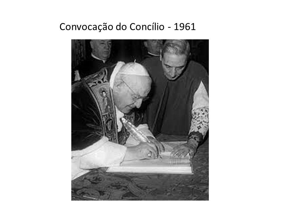Convocação do Concílio - 1961