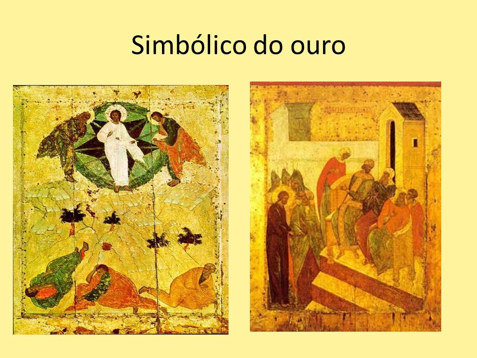 Simbólico do ouro