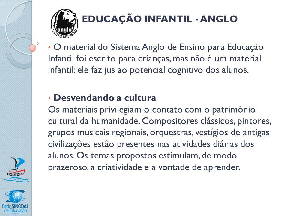 EDUCAÇÃO INFANTIL - ANGLO