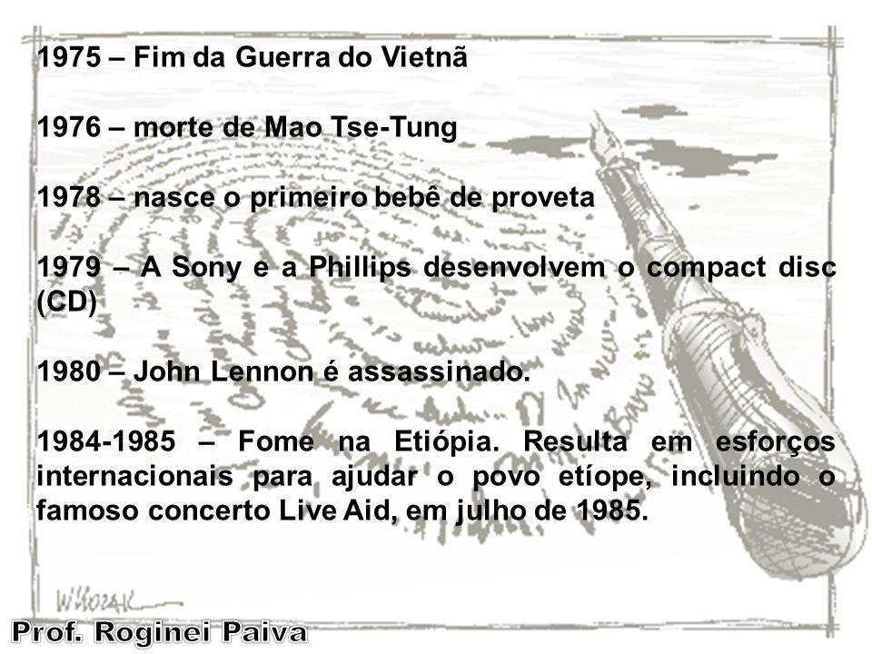 1975 – Fim da Guerra do Vietnã