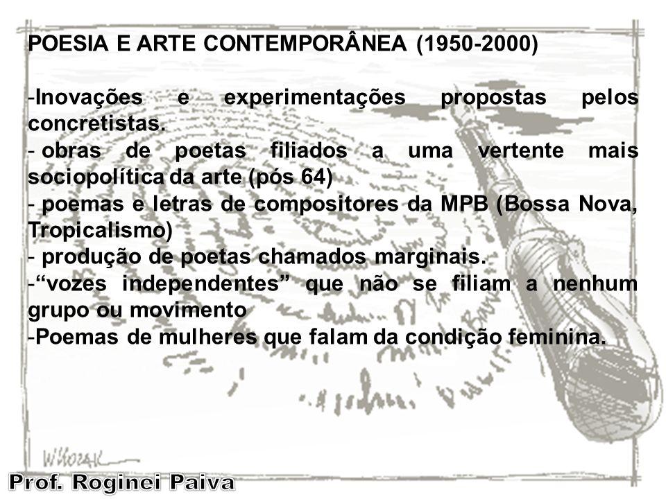 POESIA E ARTE CONTEMPORÂNEA (1950-2000)