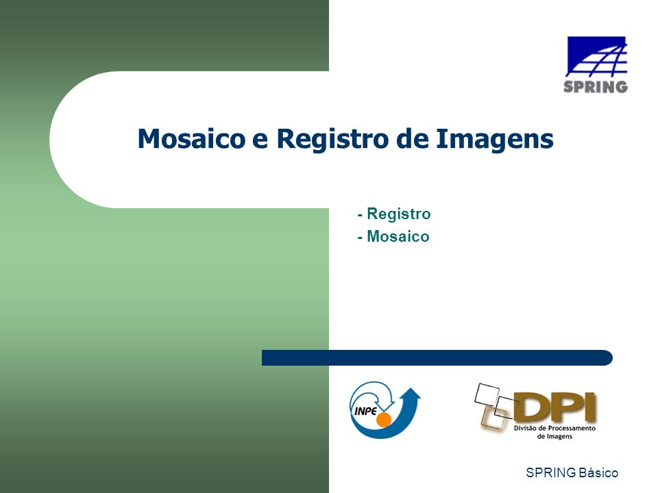 Mosaico e Registro de Imagens