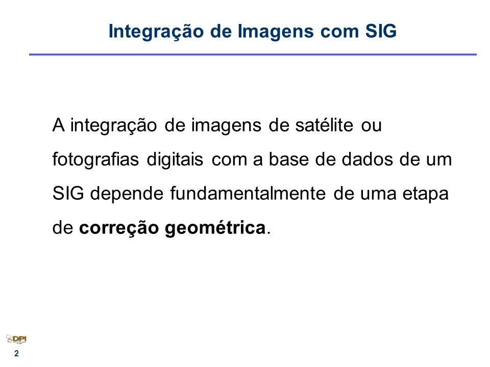 Integração de Imagens com SIG