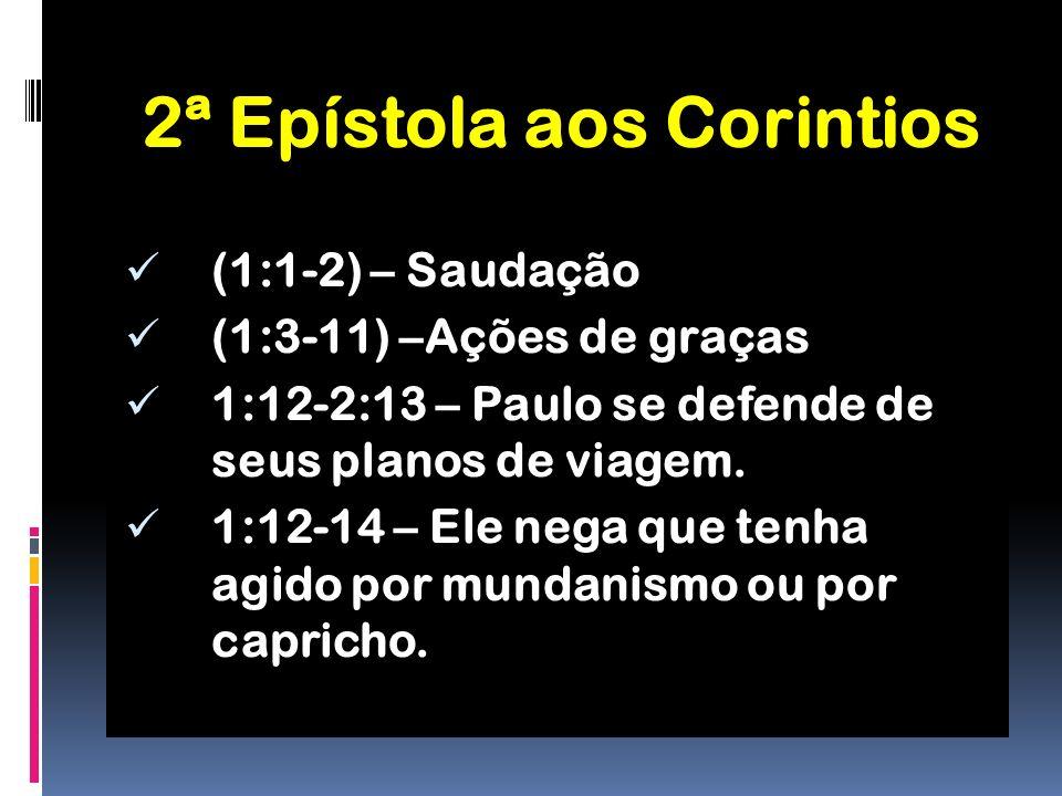 2ª Epístola aos Corintios