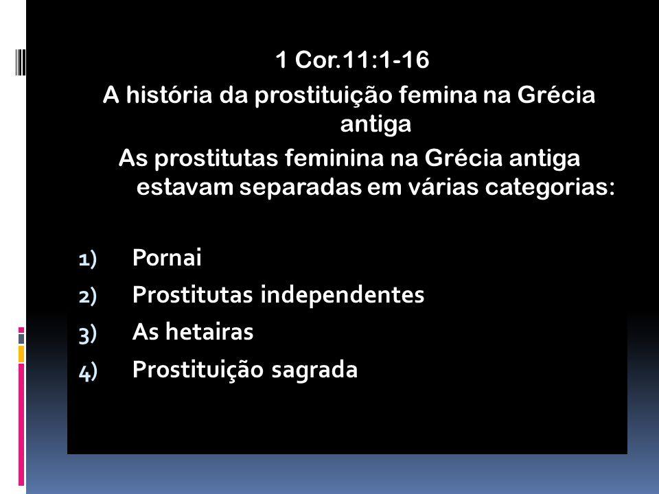 A história da prostituição femina na Grécia antiga