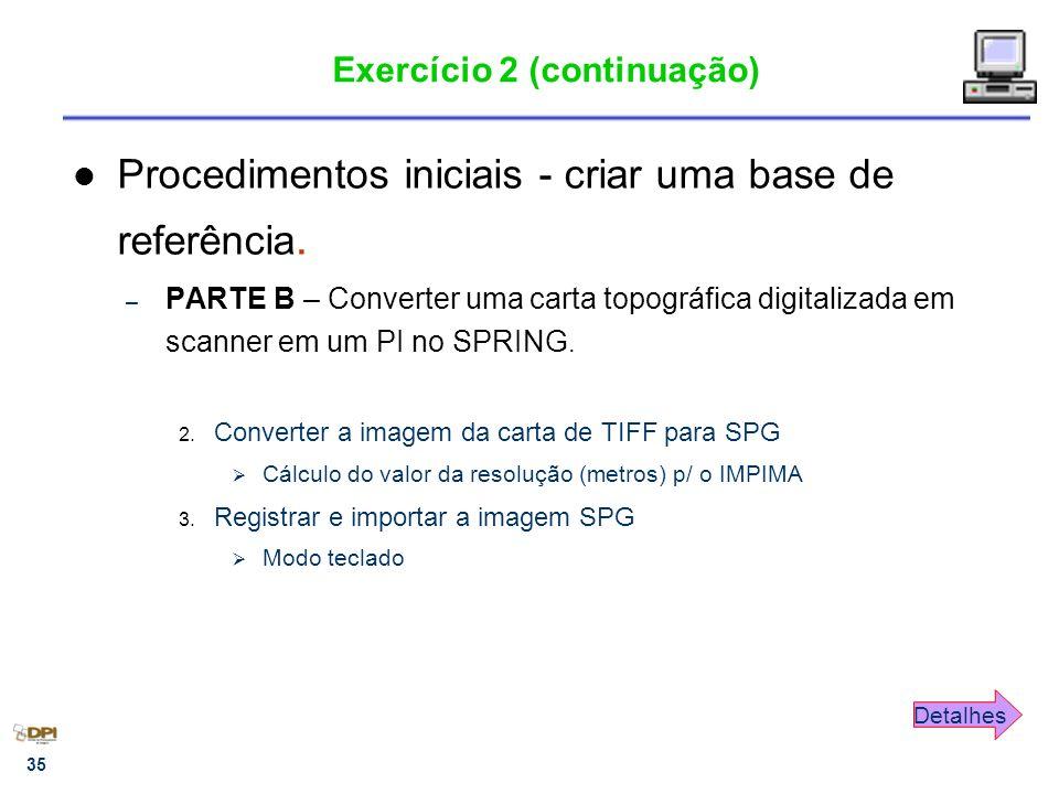 Exercício 2 (continuação)