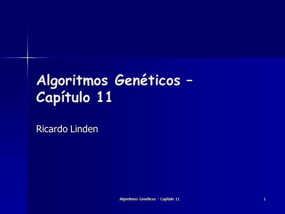 Algoritmos Genéticos – Capítulo 11